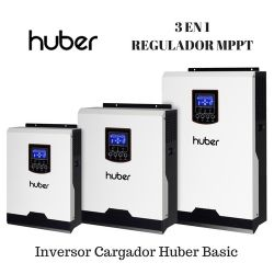 Inversor/Cargador Huber Basic 2424 Plus con regulador MPPT