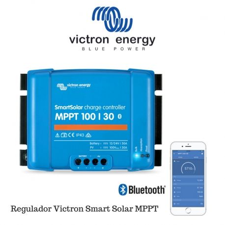 Regulador Victron Smart Solar MPPT 100/30