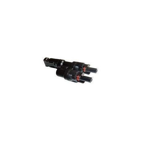 Conector Multi-Contact 1Macho 2Hembras