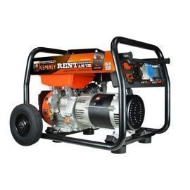 Generador gasolina RENT AM7-T 6000W 400V / 4400W 230V E-START